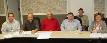 Village of Viola Zoning Board Members
